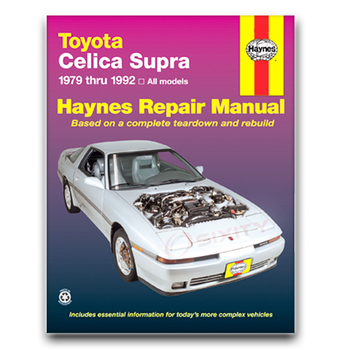 Haynes Repair Manual for Toyota Celica Supra Shop Service Garage Book cv