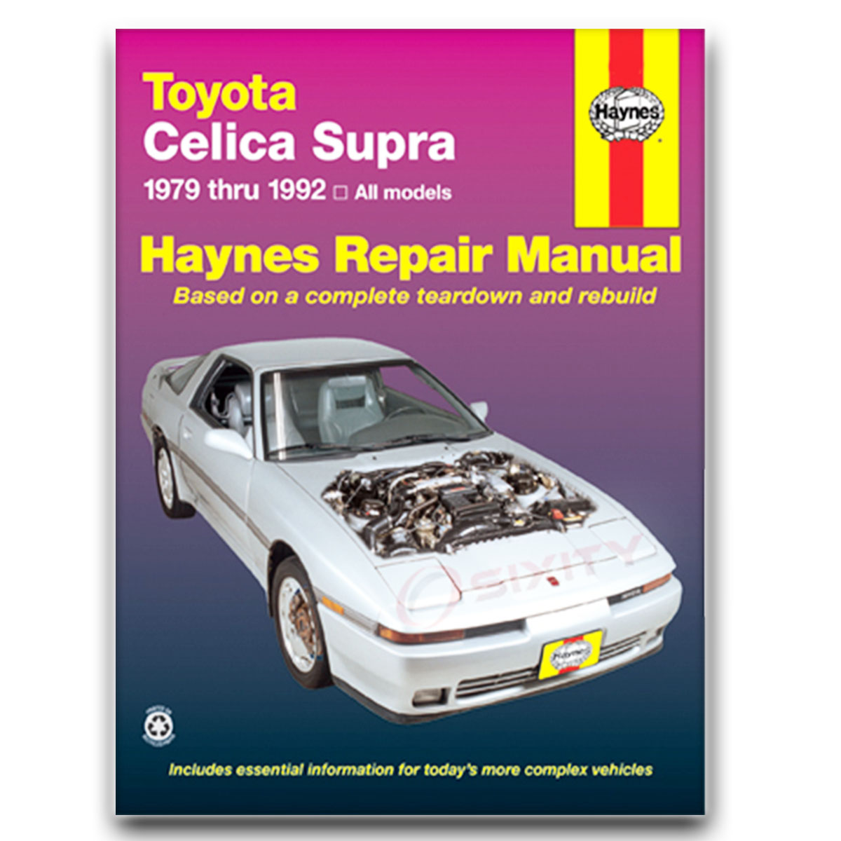 toyota supra haynes repair manual turbo base shop service garage rh ebay com toyota supra repair manual download mk4 supra repair manual