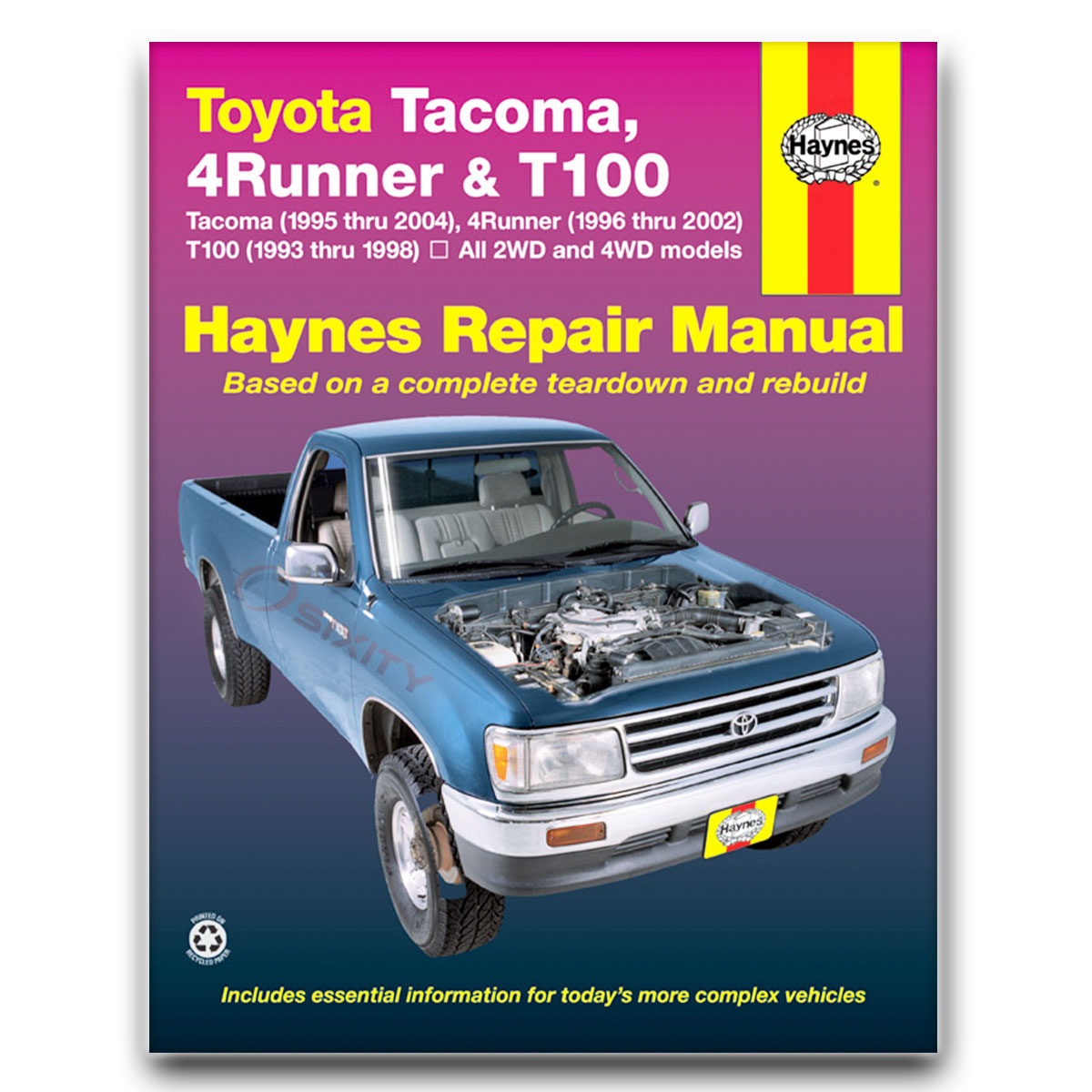 1993 toyota t100 owners manual