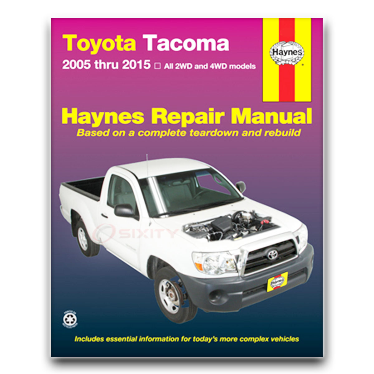 Haynes Repair Manual For 2005-2009 Toyota Tacoma
