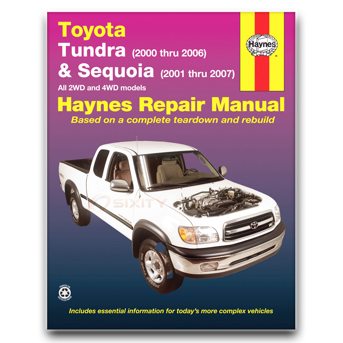 toyota tundra haynes repair manual limited sr5 base shop service rh ebay com Tundra Manual Transmission 2018 Tundra Manual Inside