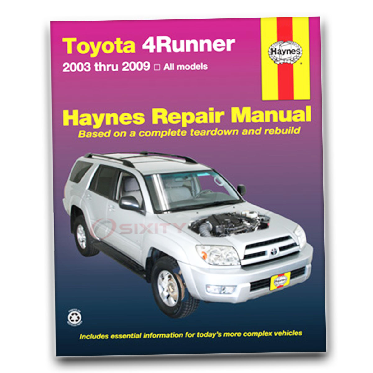toyota 4runner haynes repair manual sport limited sr5 shop service rh ebay com 2004 4runner repair manual pdf 2004 4runner repair manual free