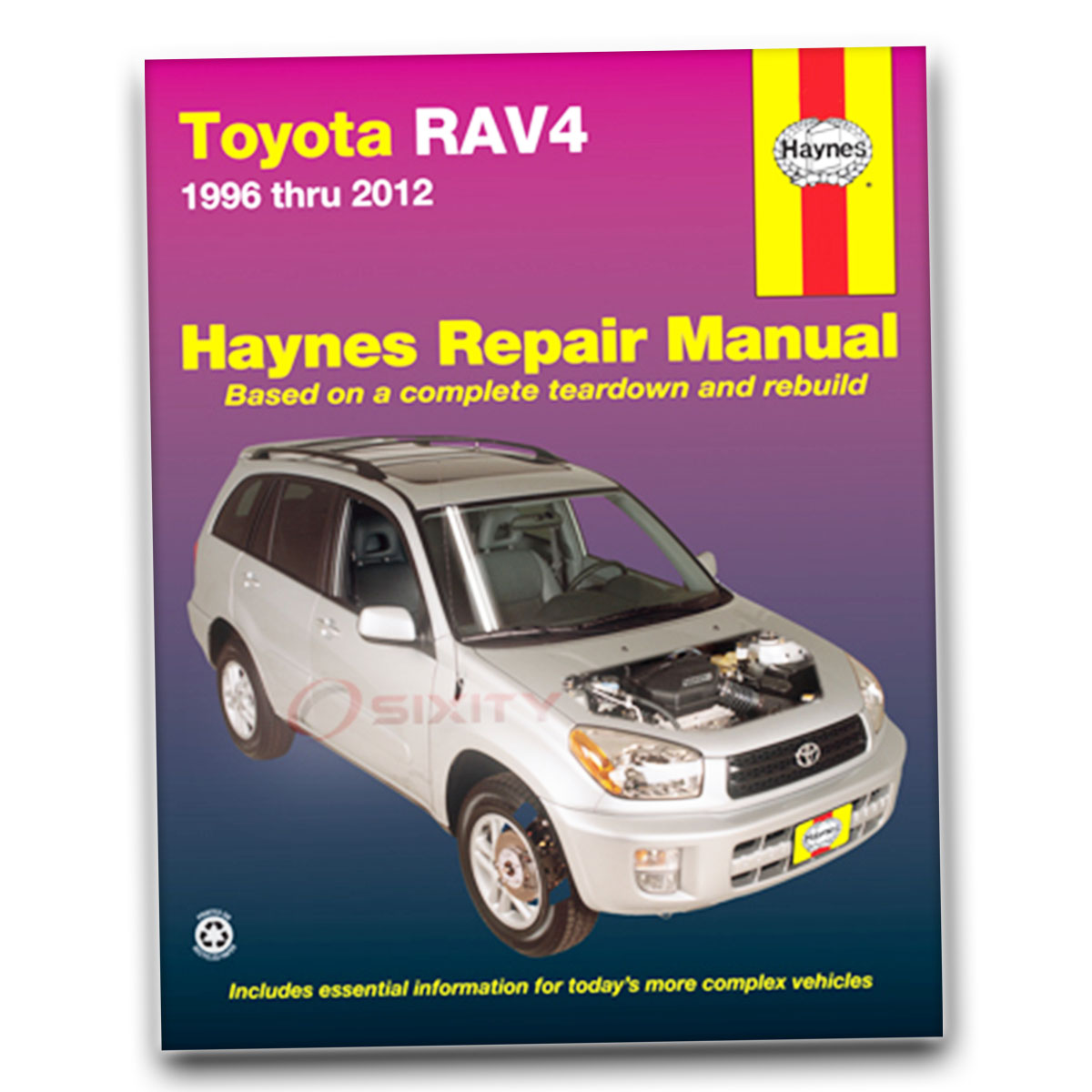 Haynes Repair Manual for Toyota RAV4 Base L Sport Limited Shop Service zu