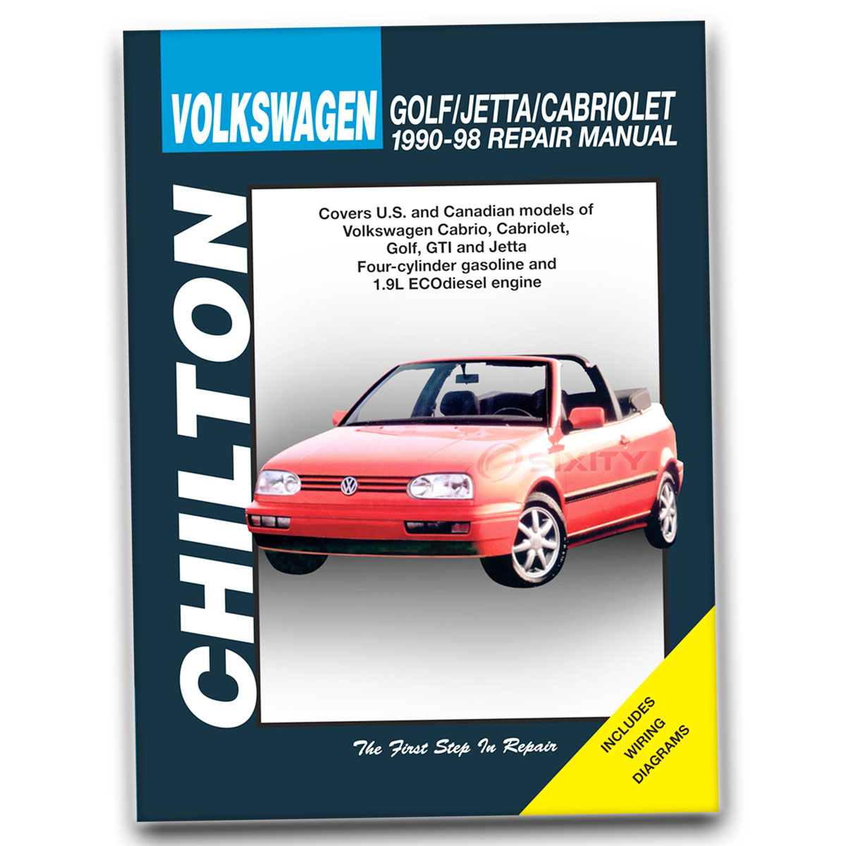 Chilton Reparacion Manual Para 1990 1998 Volkswagen Jetta Tienda Garaje El Servicio Ebay
