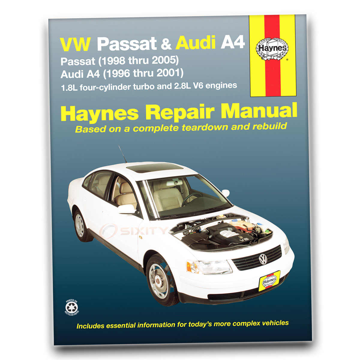 2003 Volkswagen Passat Manual Book Online User 1998 Wagon Fuse Diagram Vw Haynes Repair Gl Tdi Gls 4 Motion Glx W8 Rh Ebay Com Box Engine