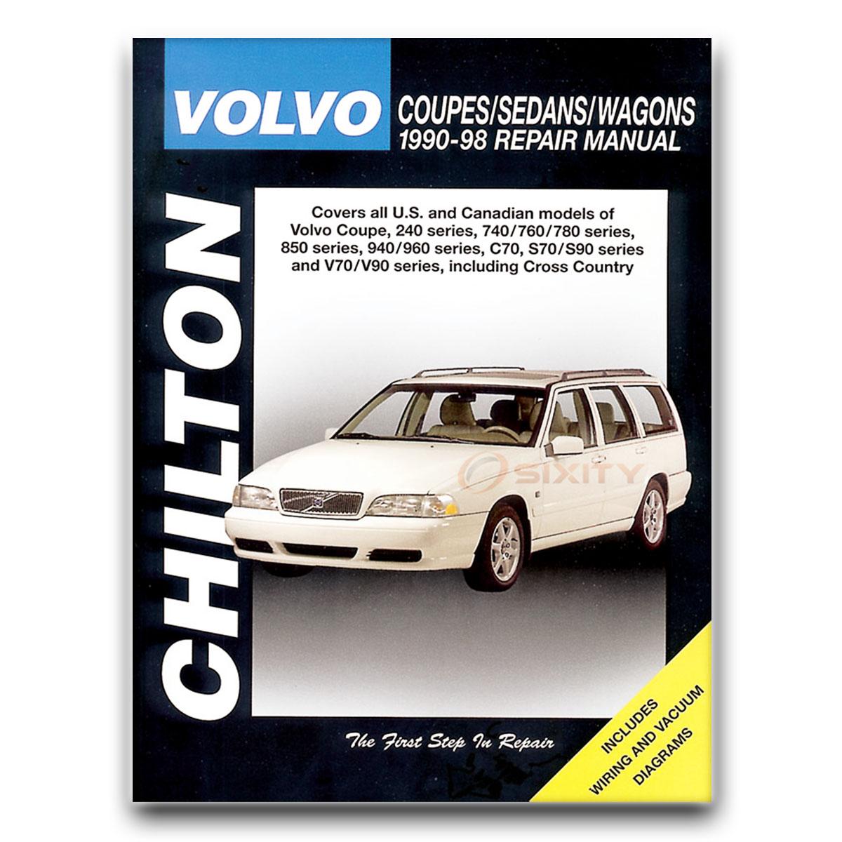 volvo 780 chilton repair manual base shop service garage book nx ebay rh ebay com Volvo Car Manuals Volvo Car Manuals