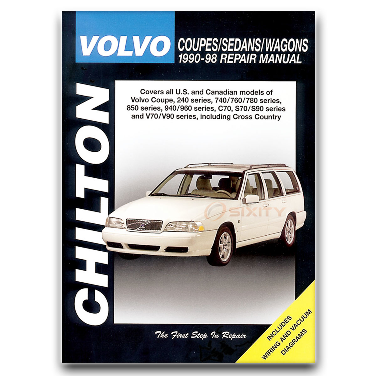 volvo 960 chilton repair manual base shop service garage book og ebay rh ebay com 1997 Volvo 960 Rear Spring 1992 volvo 960 service manual