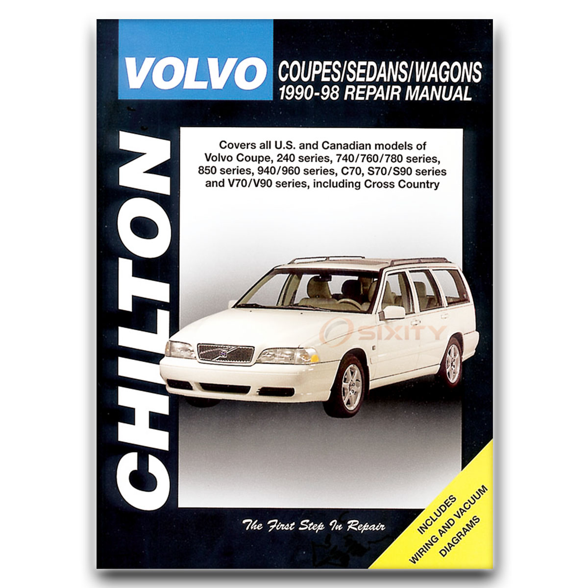 Volvo V70 Chilton Repair Manual GLT X/C AWD R Base T5 Shop Service Garage hn