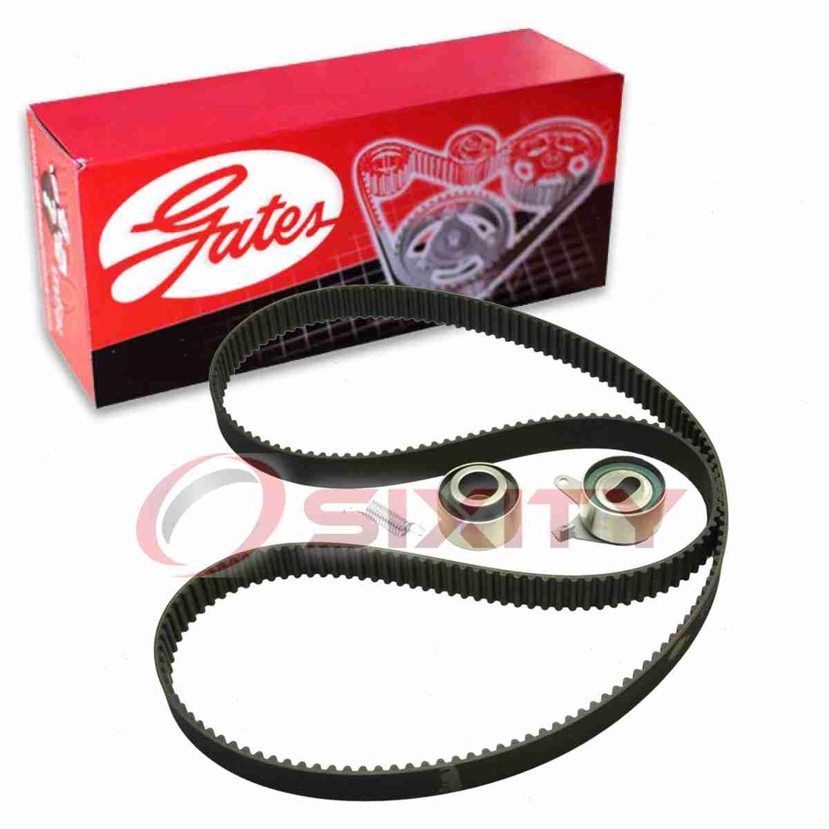 Gates Timing Belt Component Kit for 1990-2005 Mazda Miata 1.6L 1.8L L4 lo