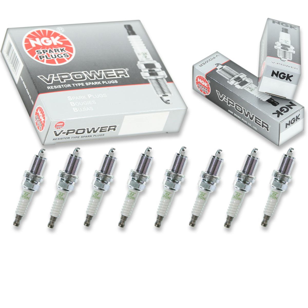 FR4 Set of 8 NGK 5155 V-Power Spark Plug