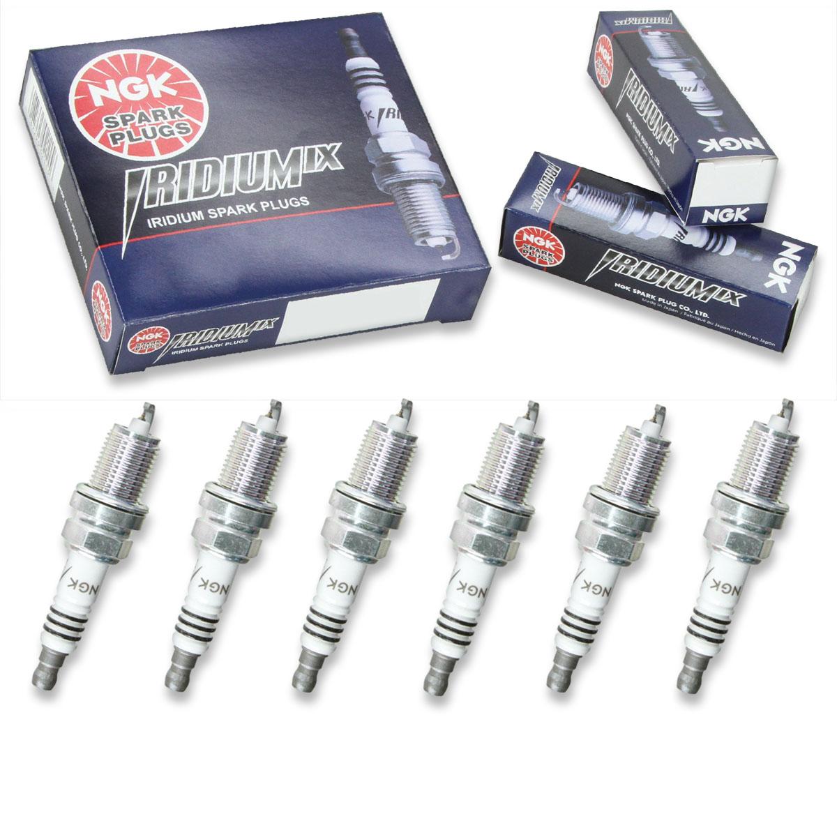 """Set of 6 for 2003-2005 Honda Pilot 3.5L V6 NGK /""""V-POWER/"""" Spark Plugs"""