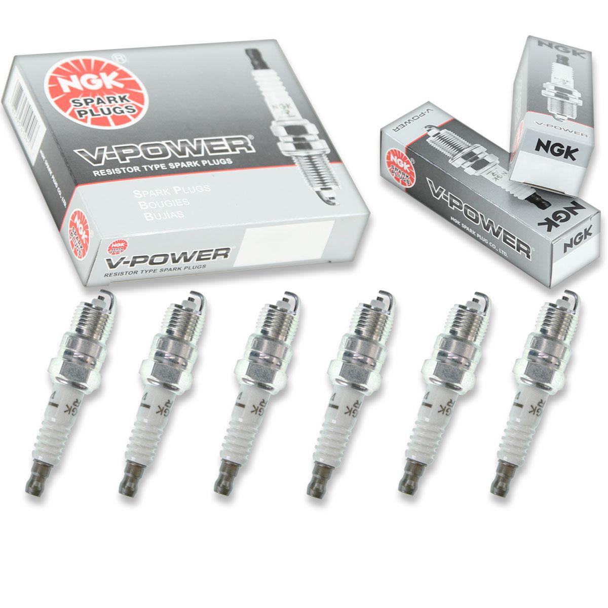 6 NGK Iridium IX Plug Spark Plugs 1982-1995 Pontiac Firebird 2.8L 3.1L 3.4L