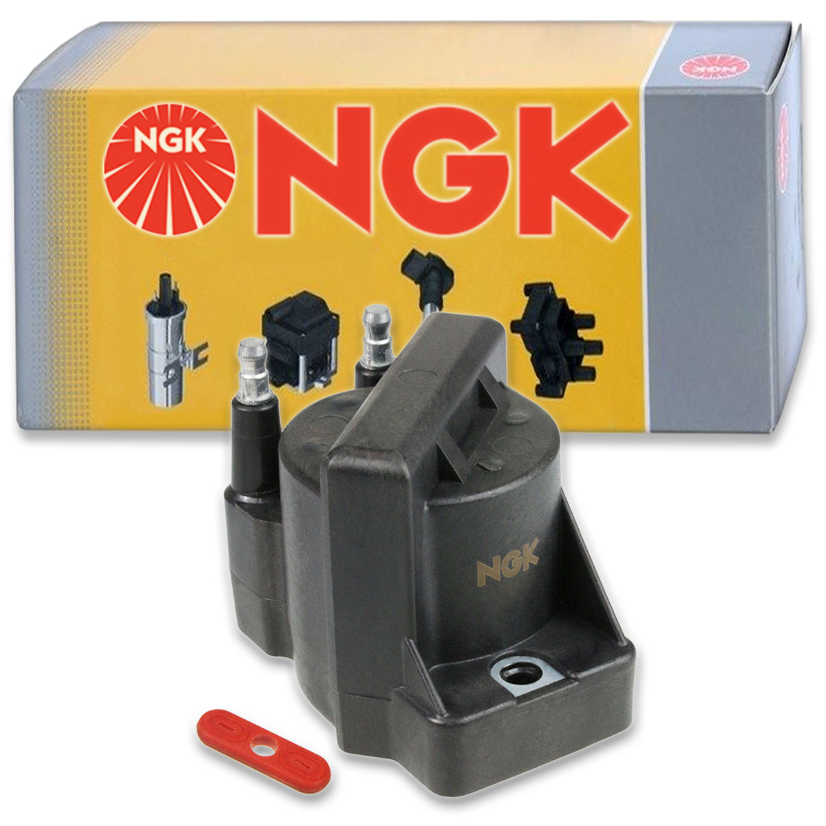 Spark Plug Tune Up dr 1 pc NGK Ignition Coil for 2004-2008 Acura TSX 2.4L L4