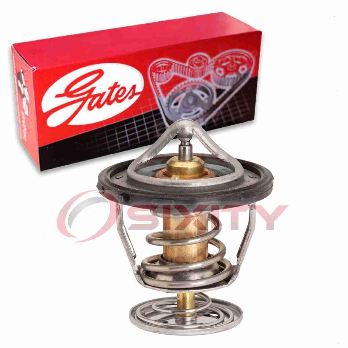 nc Gates Coolant Thermostat for 2002-2006 Cadillac Escalade 6.0L 5.3L V8
