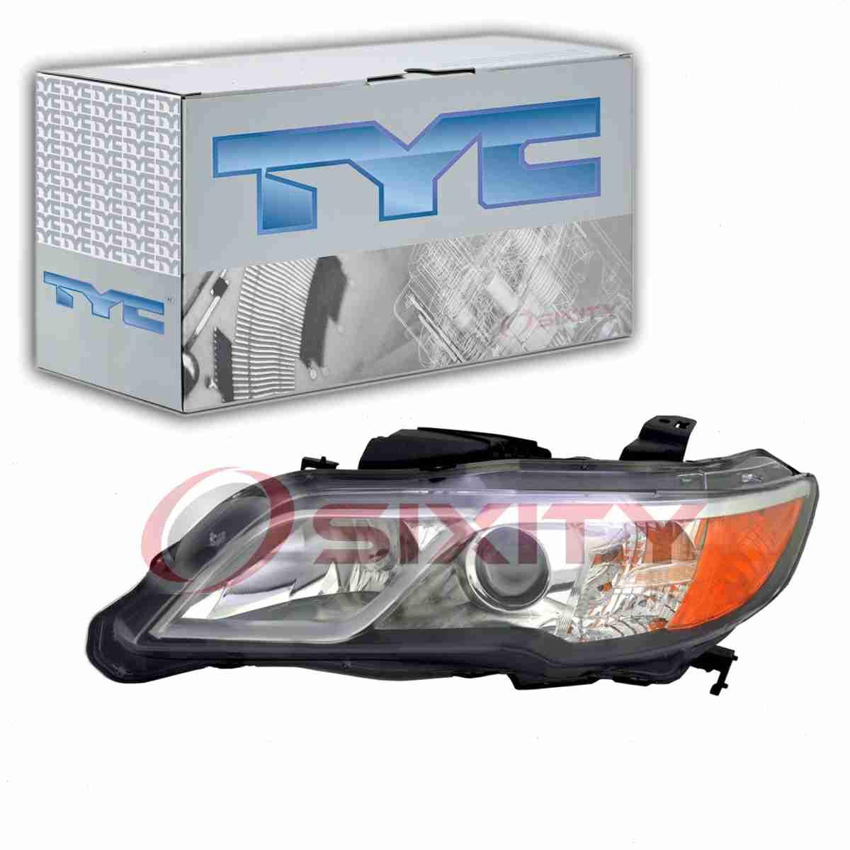 TYC Left Headlight Assembly For 2013-2015 Acura RDX St