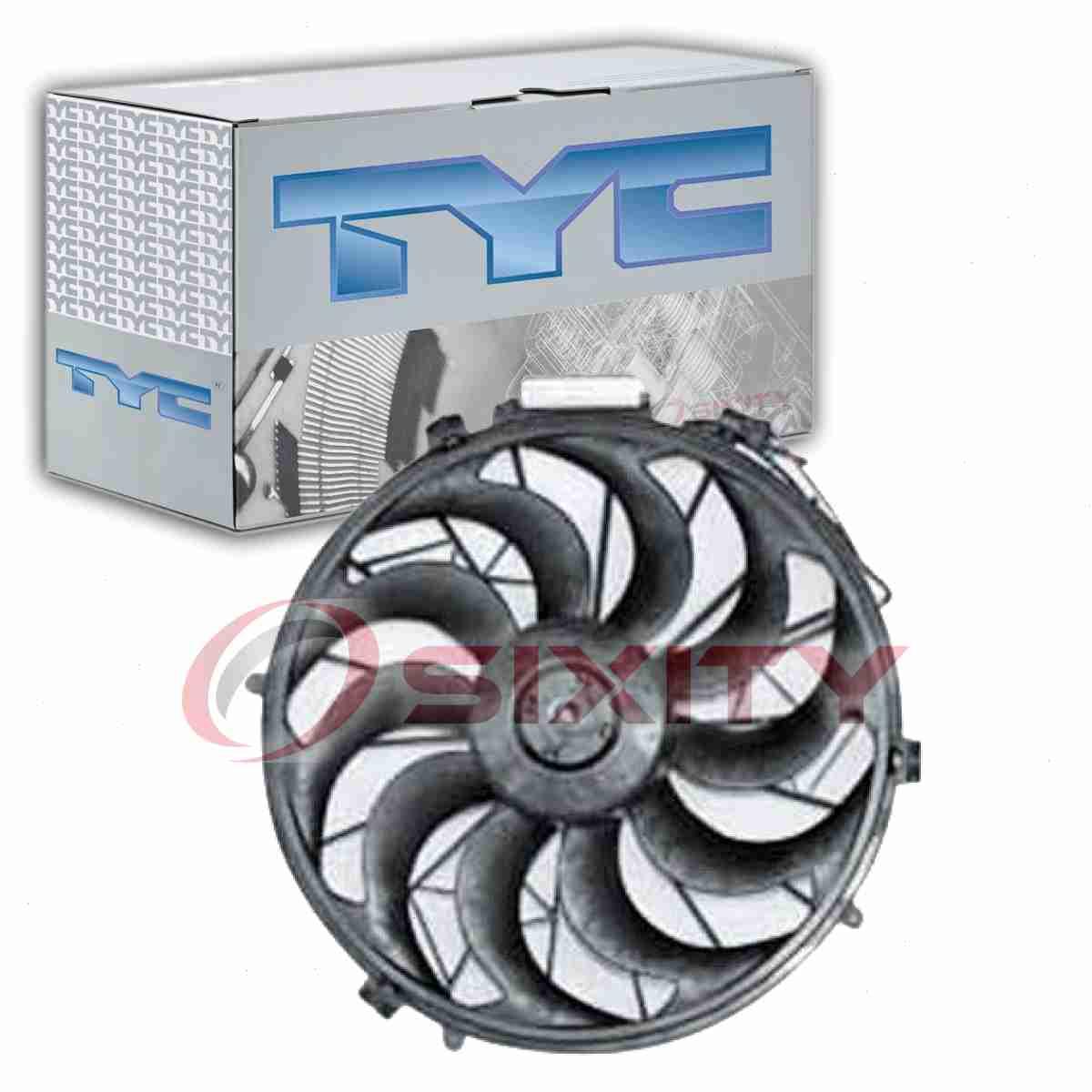 TYC 611360 AC Condenser Fan Assembly for 620-281 HO3113131 HD61061A Dorman vk