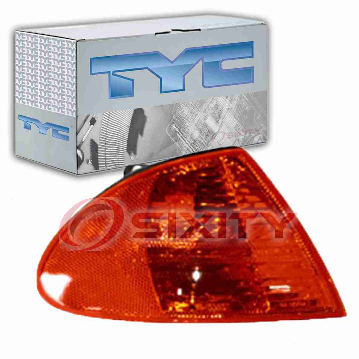 TYC Front Right Turn Signal Parking Light Assembly - 2001 BMW 320i  yw
