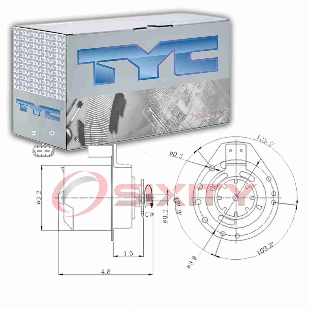 [QMVU_8575]  TYC Left Right Engine Cooling Fan Motor for 1995-1999 Chevrolet Monte Carlo  lt | eBay | 1999 Monte Carlo Engine Diagram |  | eBay
