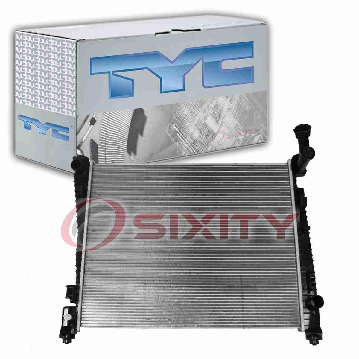 TYC Radiator Assembly for 2011-2015 Dodge Durango 3.6L V6 5.7L V8 fp