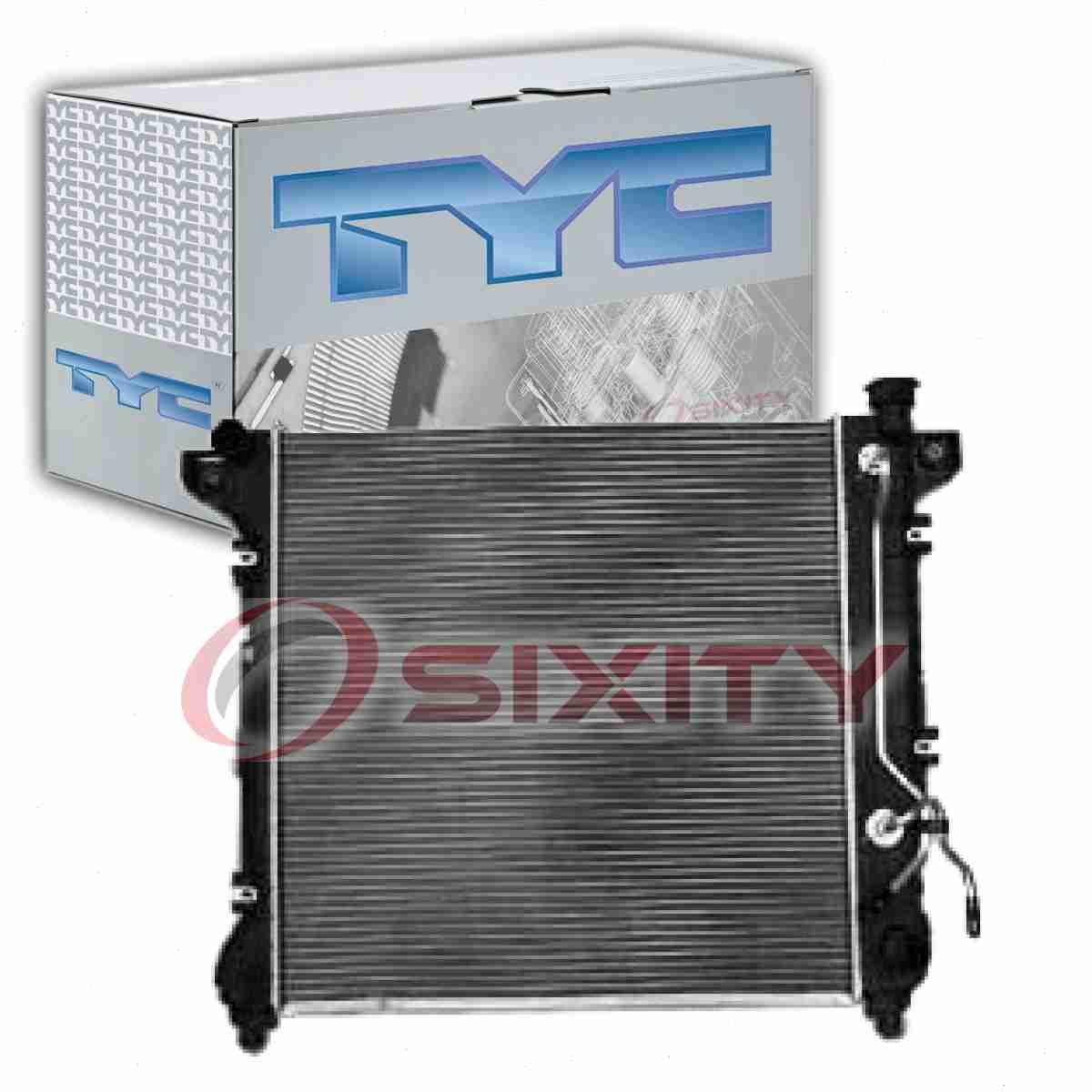 TYC Radiator Assembly for 1998-1999 Dodge Durango 5.2L V8 5.9L V8 ea