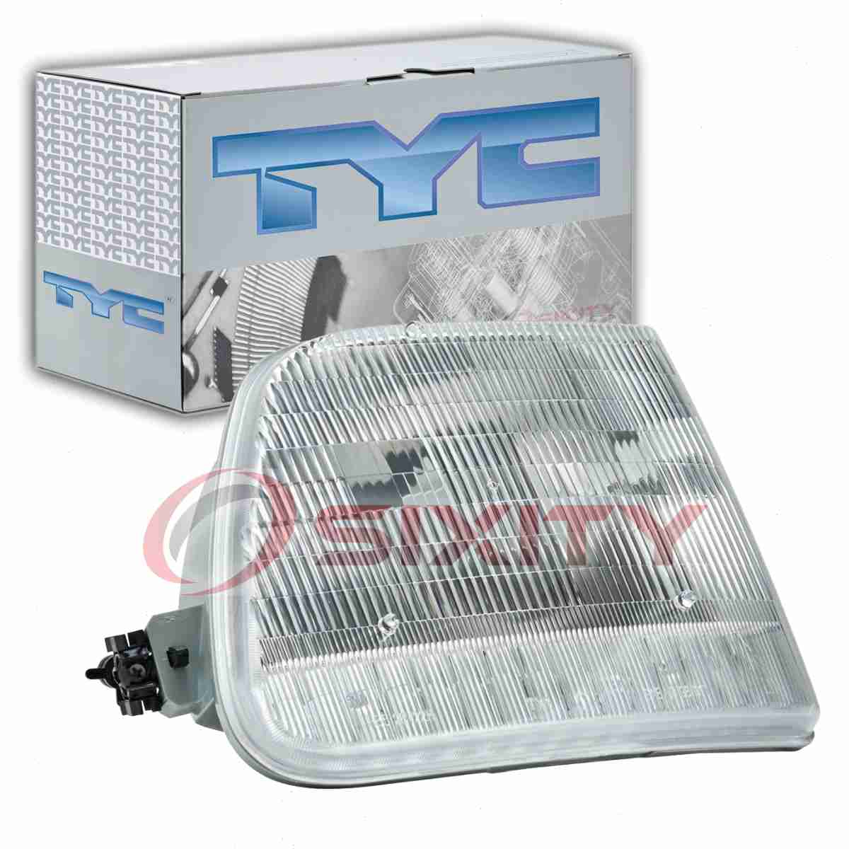 TYC Left Headlight Assembly for 1997-2004 Ford F-150  le