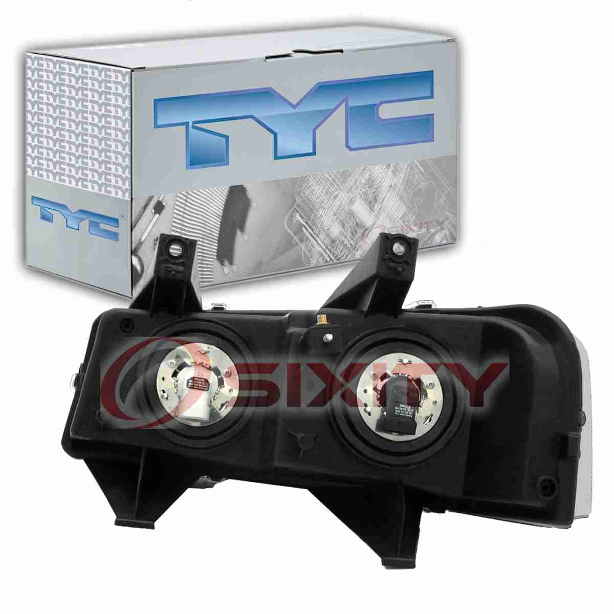 TYC Right Headlight Assembly For 2003-2015 GMC Savana 2500