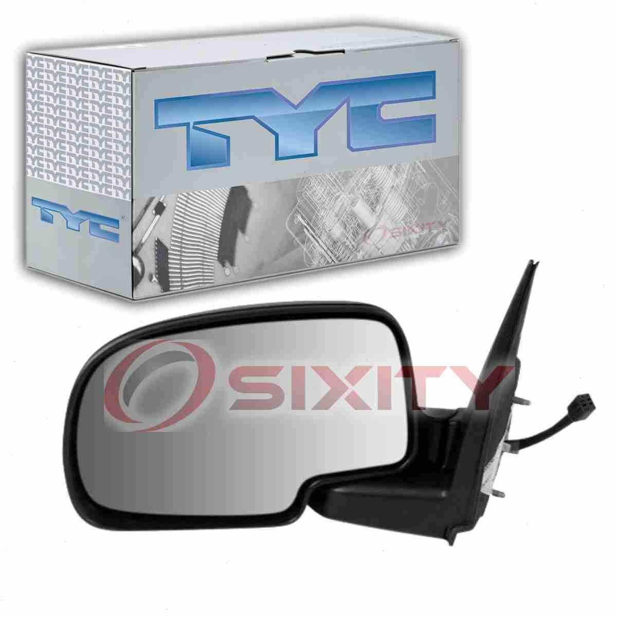 Tyc Left Door Mirror For 2000