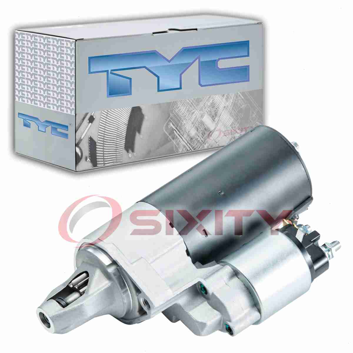 TYC Starter Motor for 1994-2000 GMC C2500 5.7L V8 7.4L V8 vo