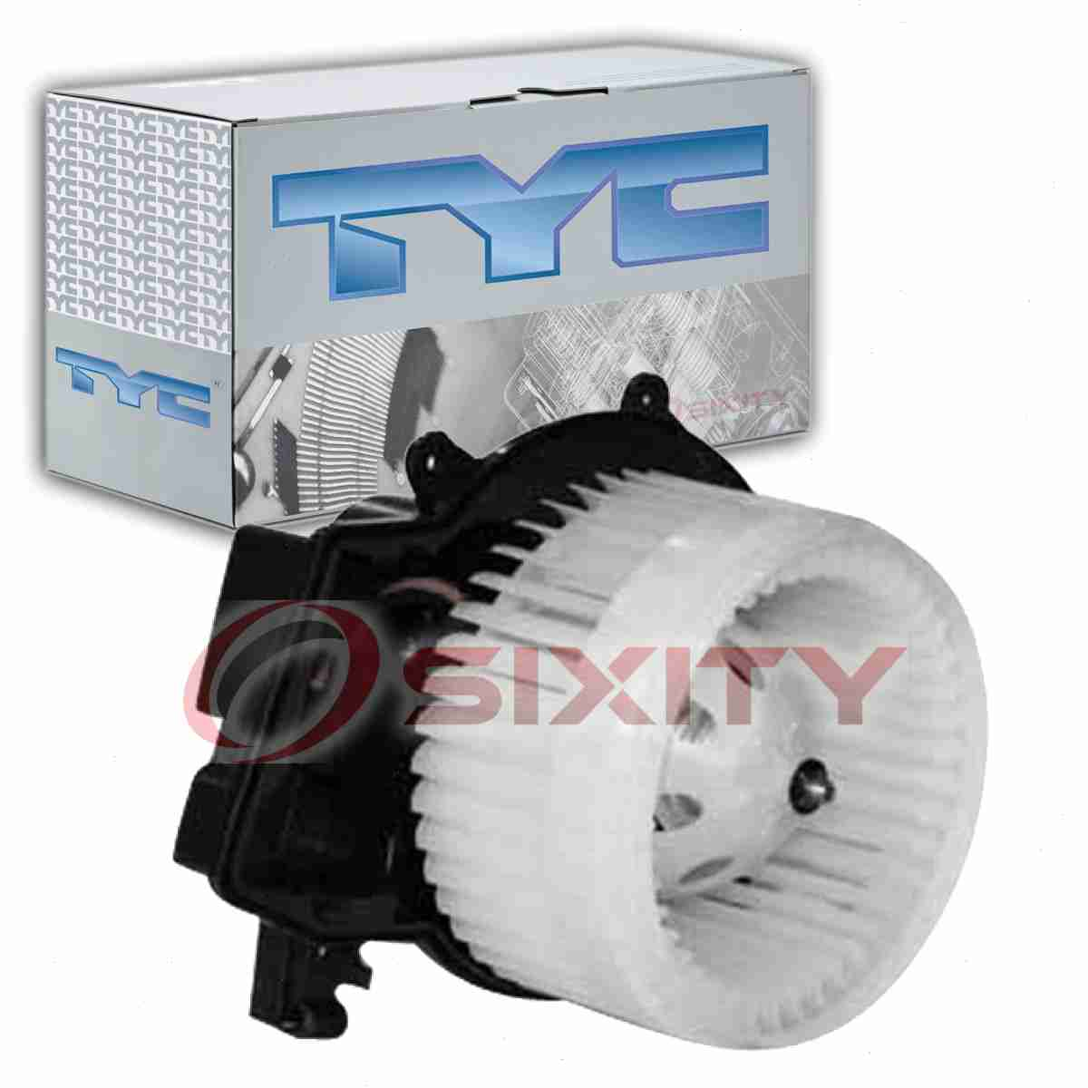 TYC Front HVAC Blower Motor for 2003-2005 Mercedes-Benz CLK320  wq
