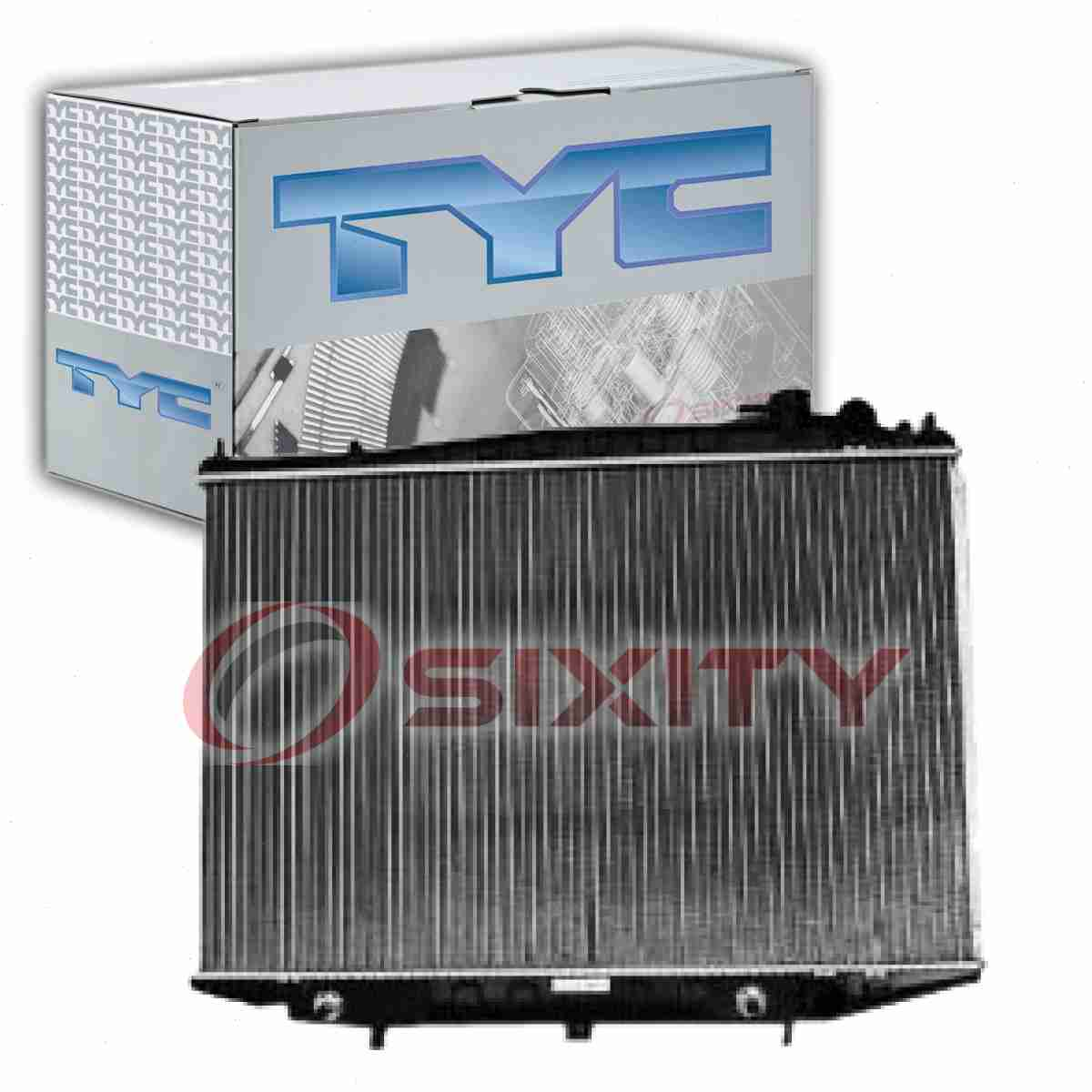Tyc Radiator Assembly For 1998