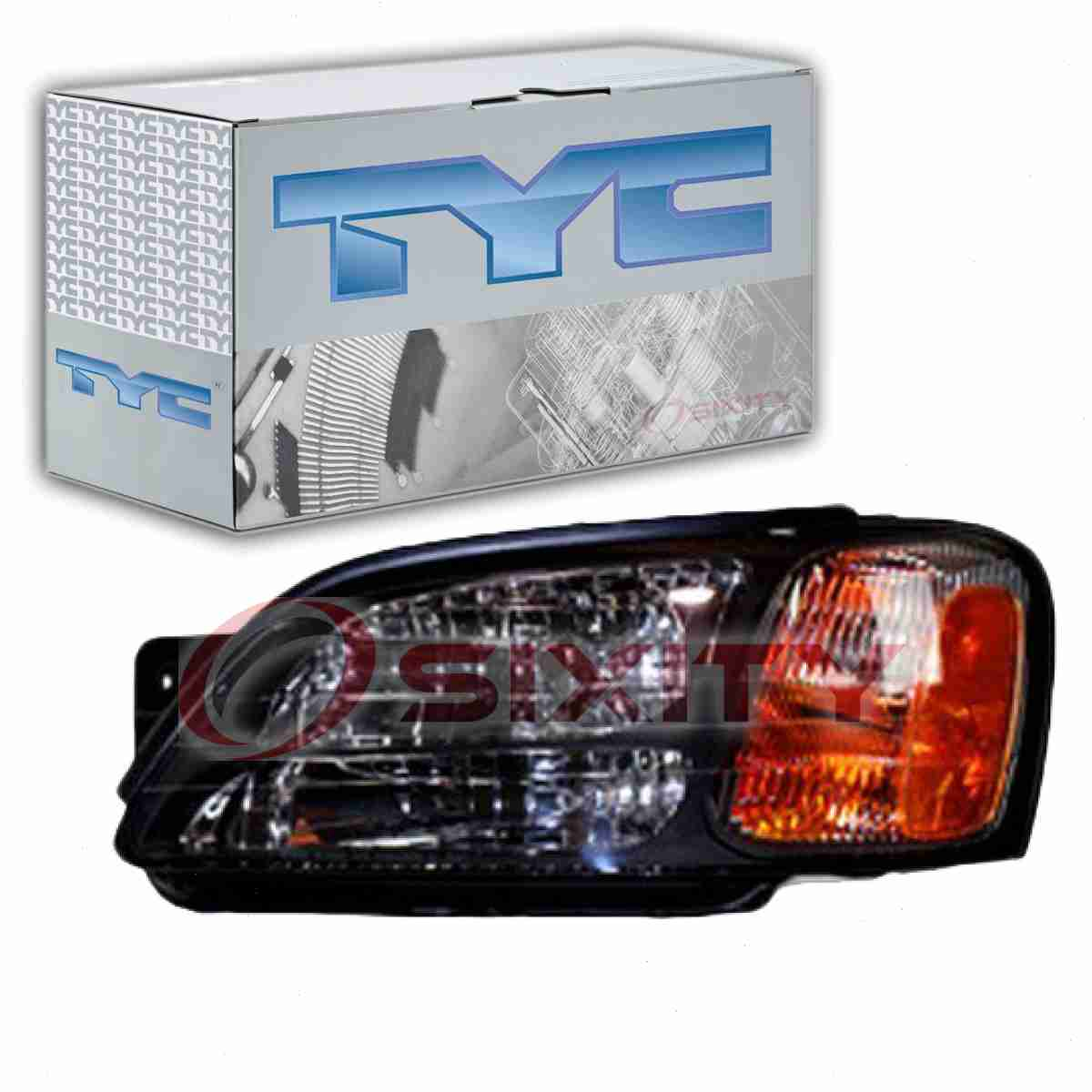 Details about TYC Left Headlight Assembly for 2000-2004 Subaru Outback vb