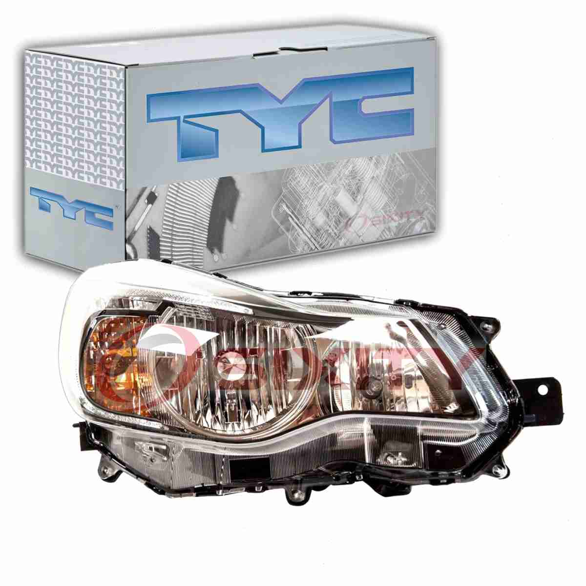 Detalles acerca de Tyc Derecho Faro Conjunto para 2013-2015 Subaru XV  Crosstrek Mu- mostrar título original