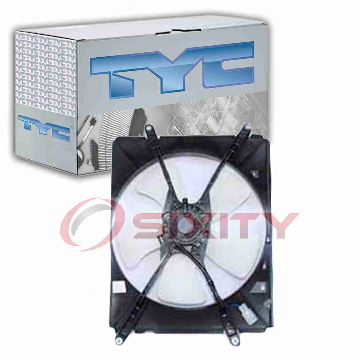 RH A//C Condenser Cooling Fan For 1992-1996 Toyota Camry