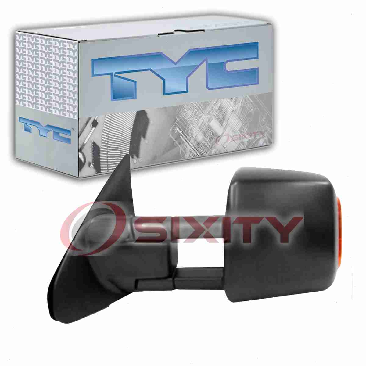 TYC Right Door Mirror for 2001-2004 Toyota Tacoma er Automotive ...