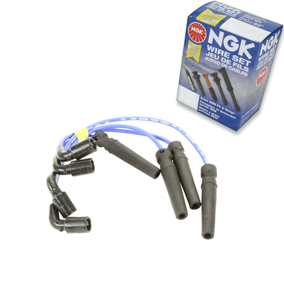 Ngk Spark Plug Wire Set 1999 2002 Daewoo Lanos 16l L4 Kit Tune 2001 Electrical Wiring Diagram Get Free Image About You Will Receive The Parts Shown Below