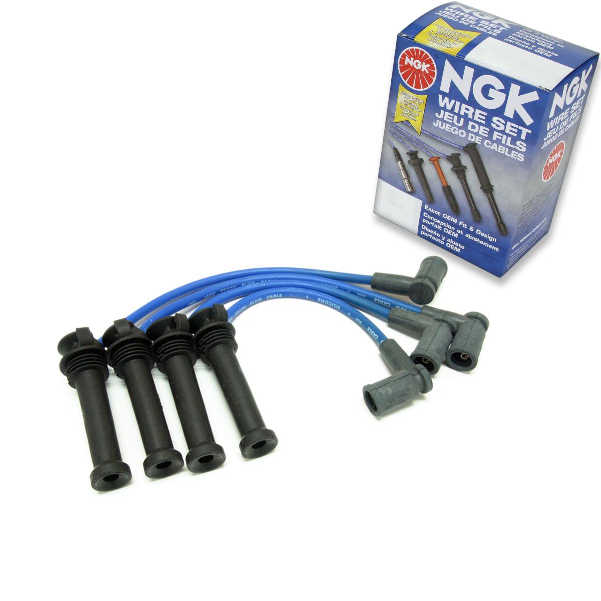 Engine Kit ux 1 pc NGK Spark Plug Wire Set for 2001-2005 Mazda Miata 1.8L L4