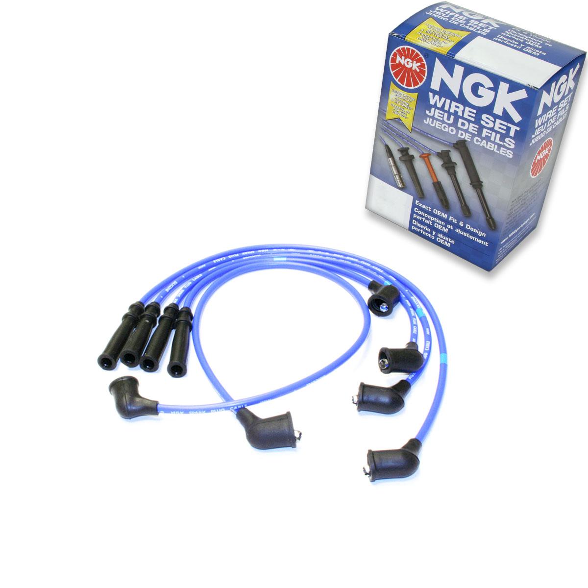 Details about 1 pc NGK Spark Plug Wire Set for 1990-1994 Nissan D21 2 4L L4  - Engine Kit xx