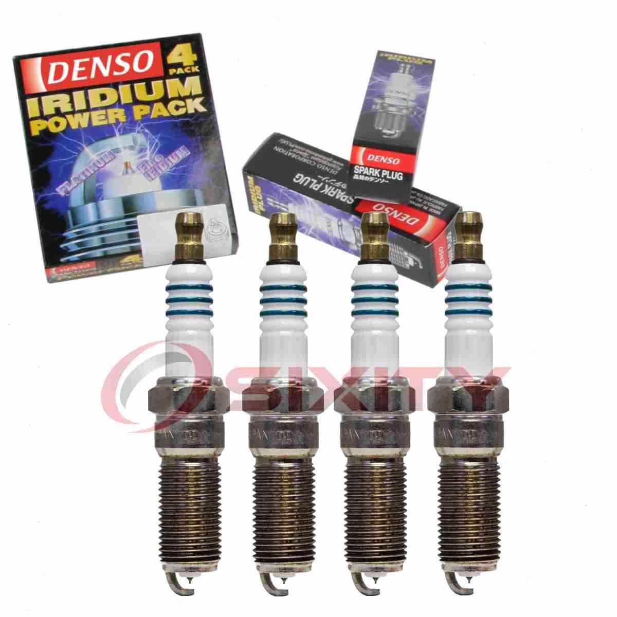 "DENSO /""PLATINUM/"" Spark Plugs Set of 4 for 2006-2011 Chevrolet HHR 2.0L 2.2L 2.4L"