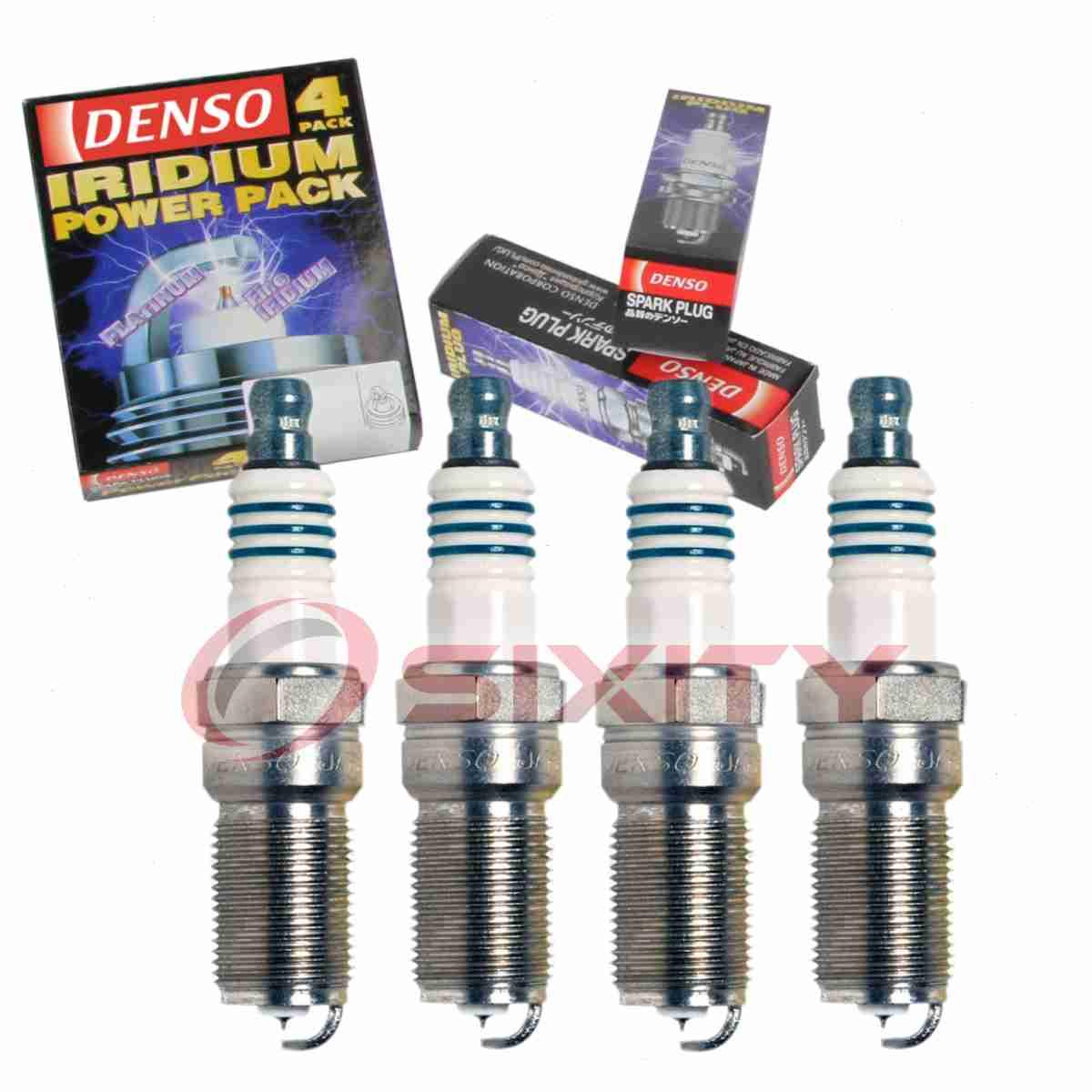 4 pc Denso Iridium Power Spark Plugs for Ford Taurus 2.0L L4 2013-2016 Tune gv