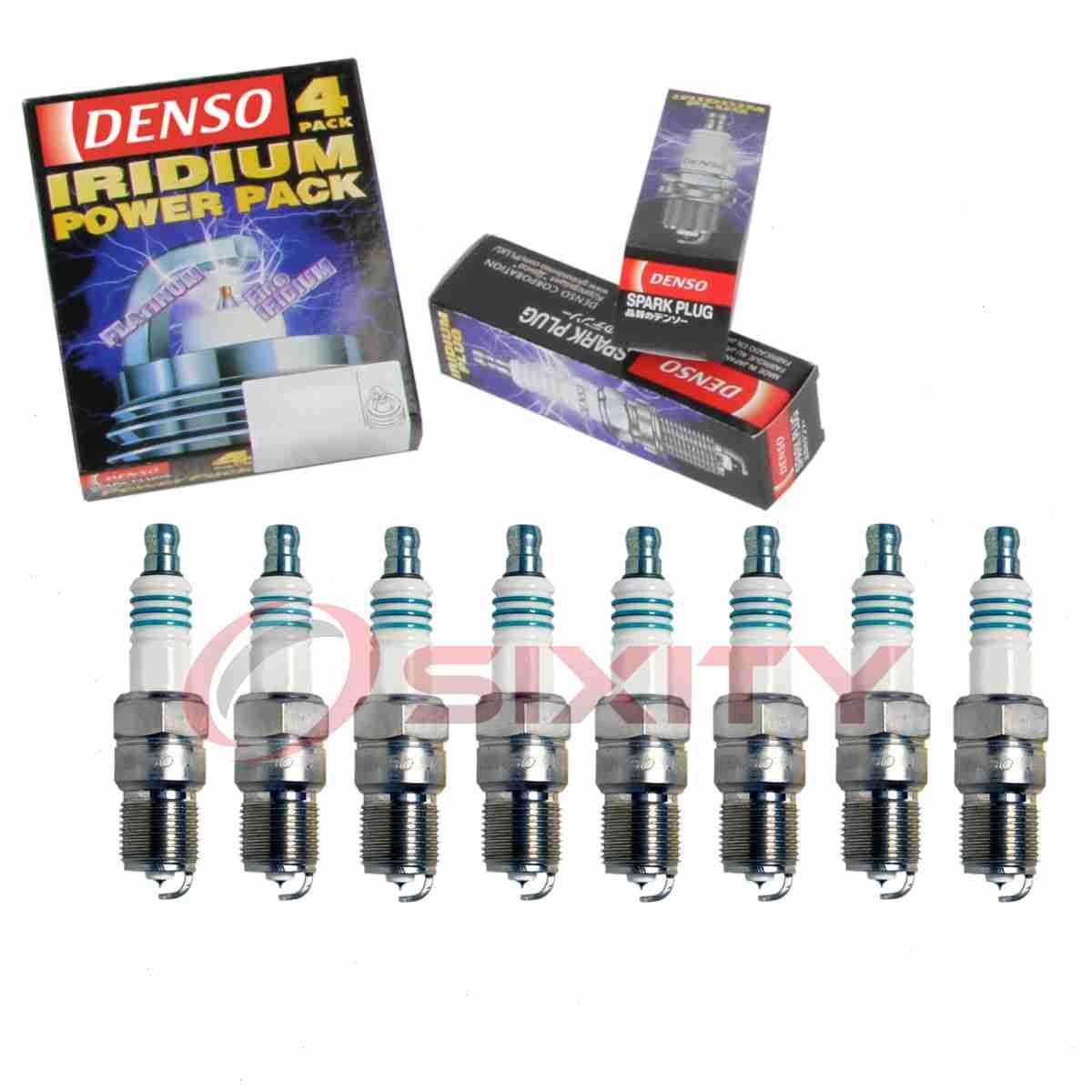 8 pc Denso Platinum TT Spark Plugs for Ford Ranger 2.3L 2.5L L4 1994-2001 iy