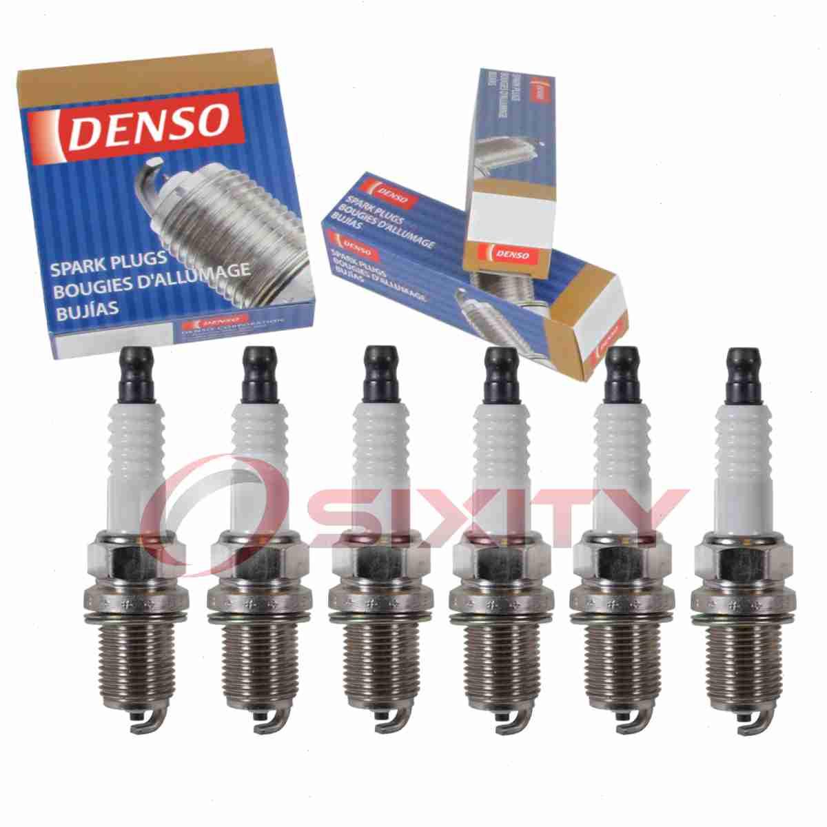 Details about 6 pc Denso Standard Spark Plugs for Hyundai Sonata 3 3L V6  2006-2010 Tune Up de