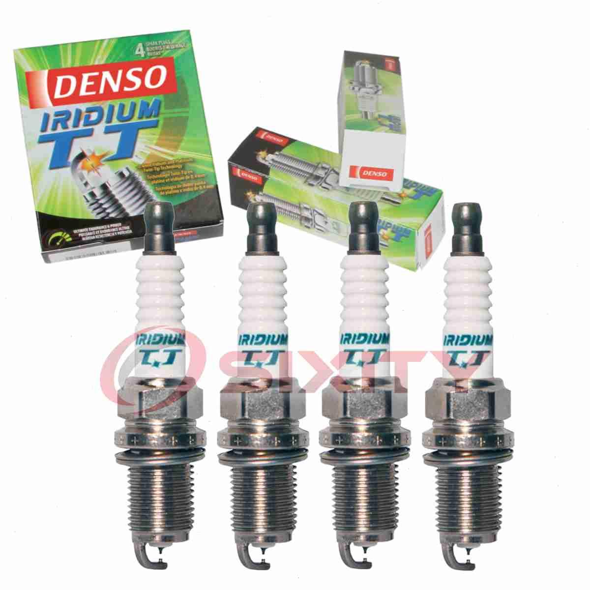 4x OPEL ASTRA F 1.6 i ORIG DENSO Iridium Power SPARK PLUGS