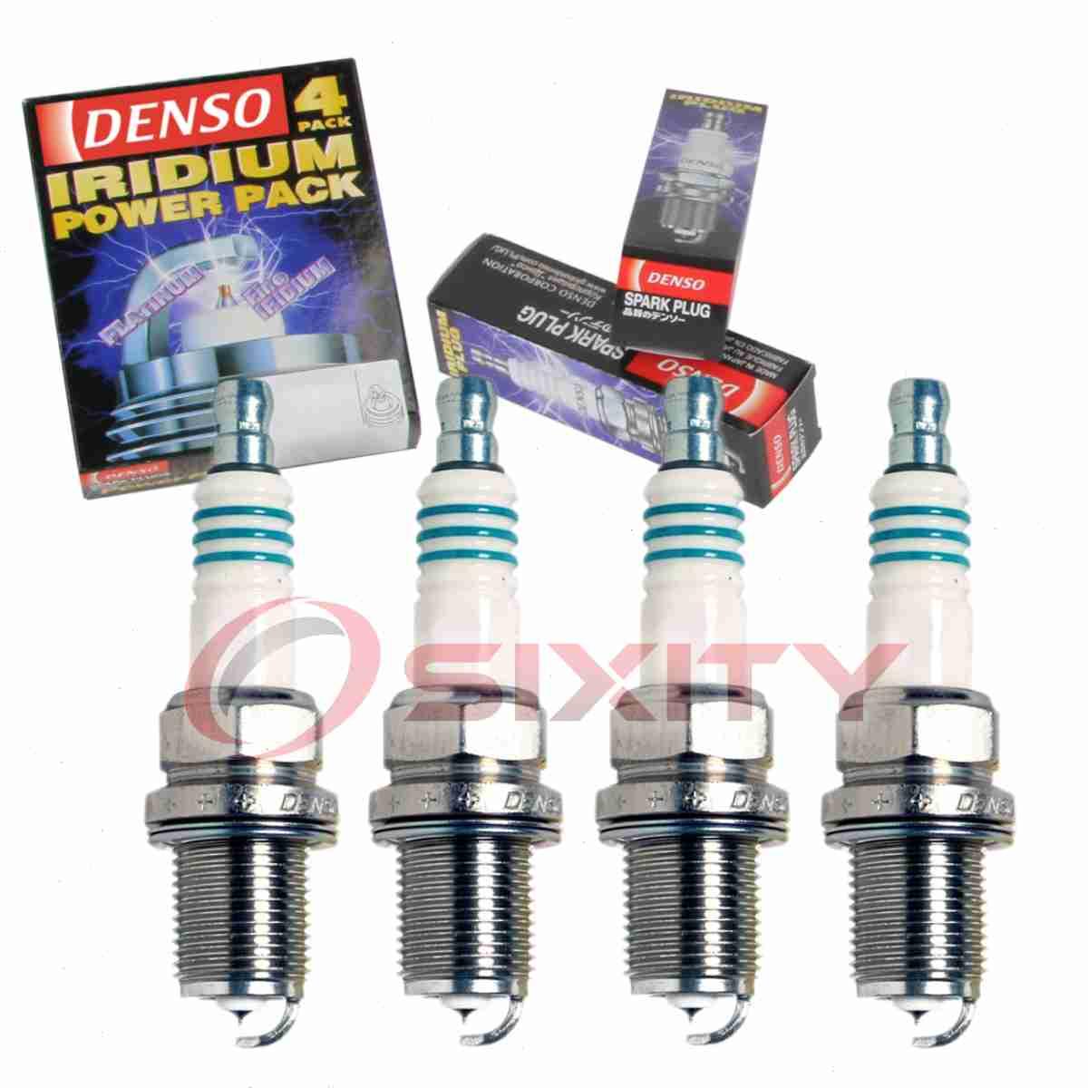 4 X Denso Iridium Power Spark Plugs 2008-2011 Scion xB 2.4L L4 Kit Set