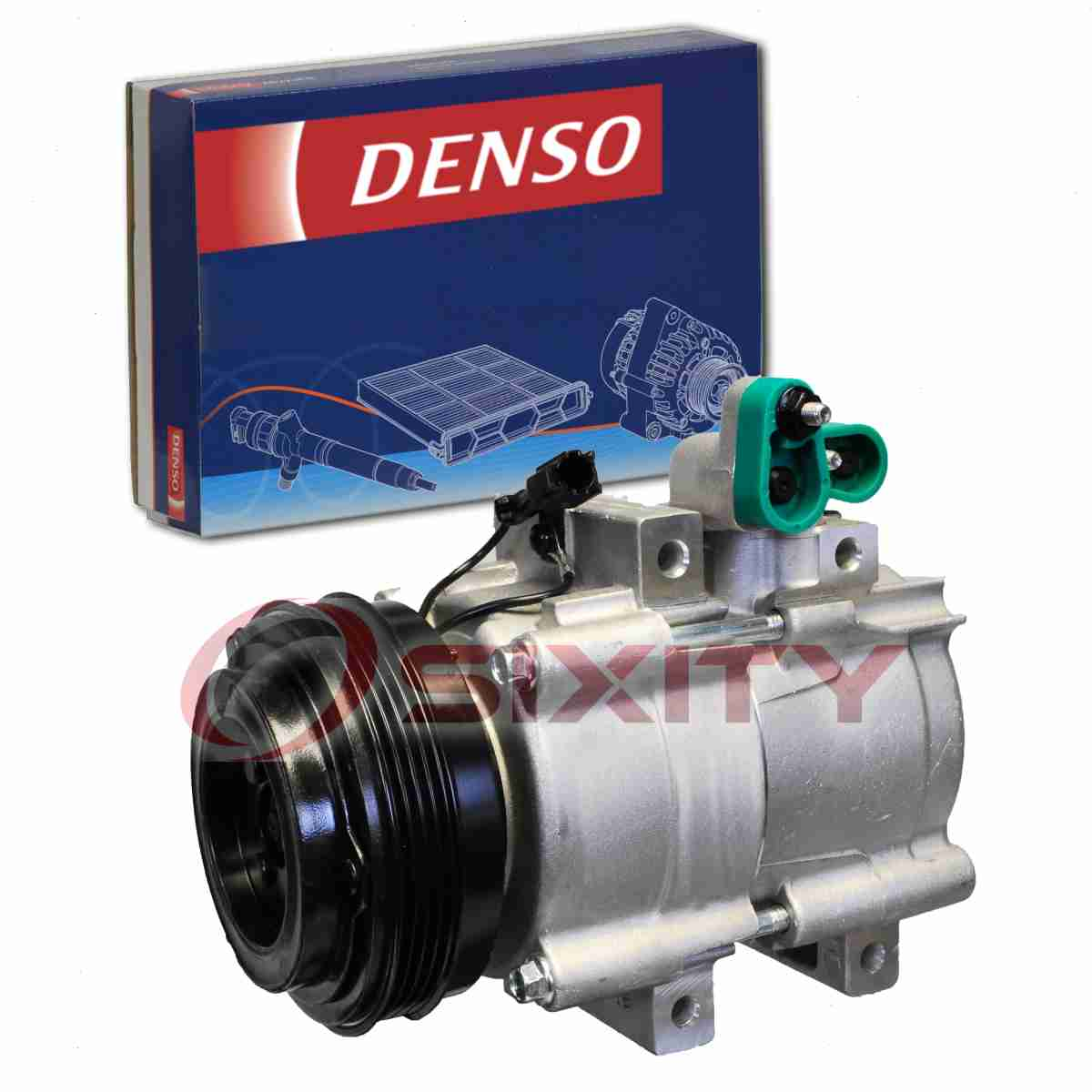 A//C Compressor Kit Fits Kia Sorento 2003-2006 V6 3.5L 57190