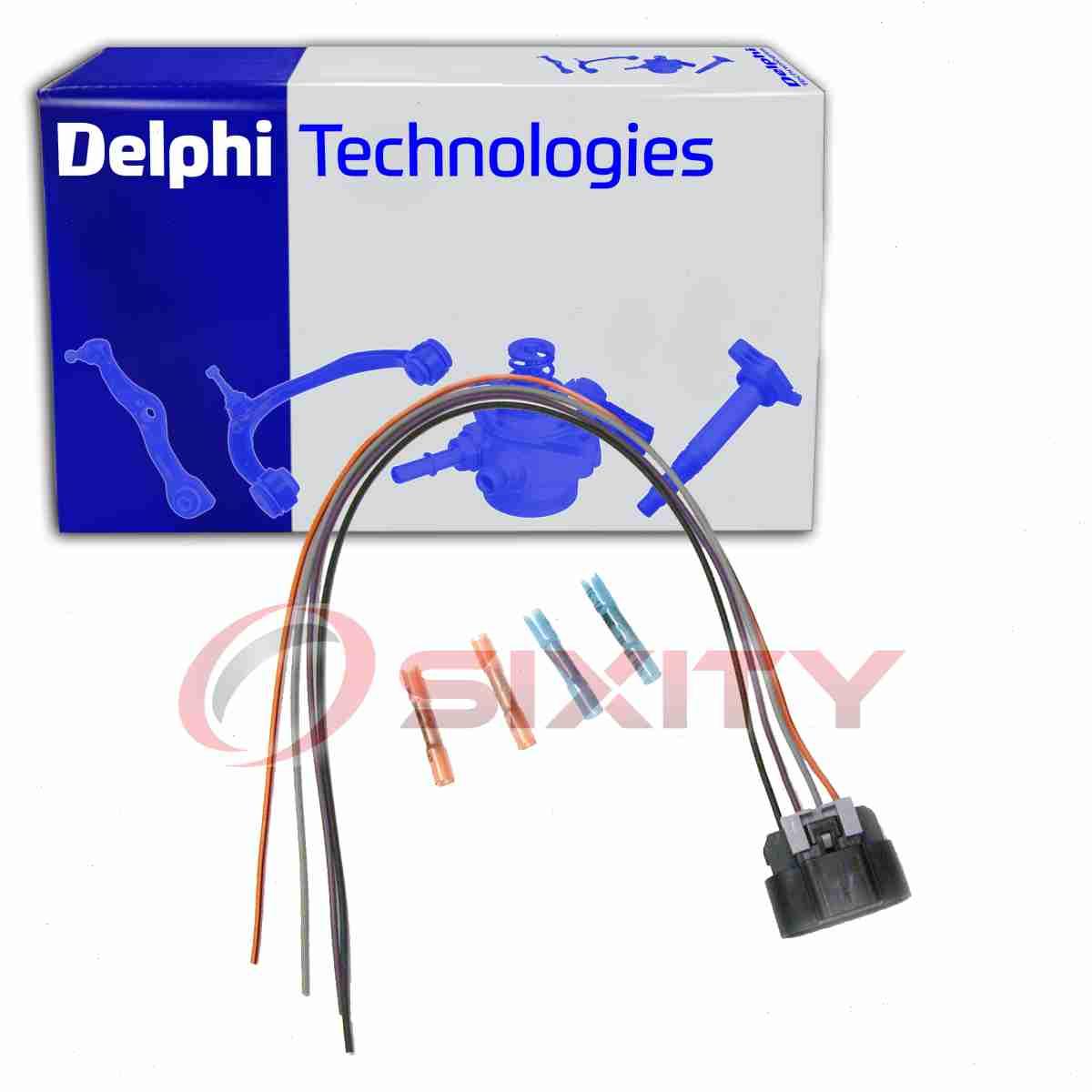 Delphi Fuel Pump Wiring Harness for 2001-2003 GMC Sierra ...