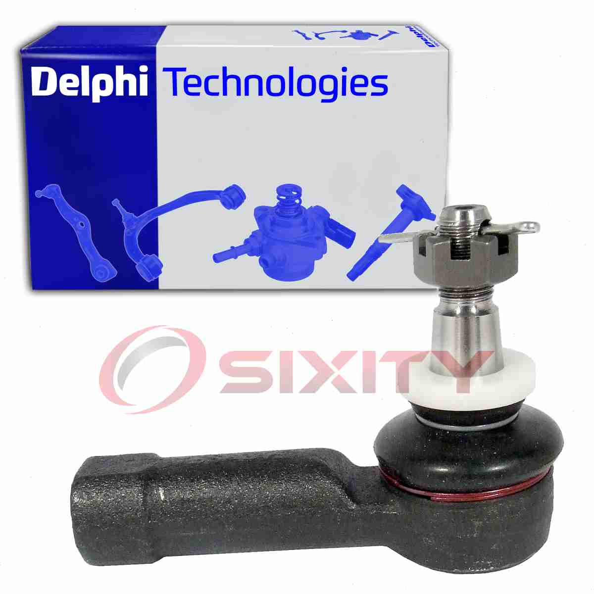 Delphi 2X Outer Steering Tie Rod End For 2004-2006 Pontiac GTO