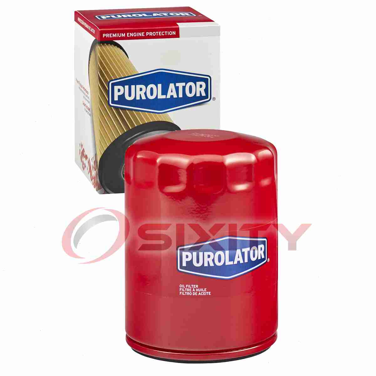 bh Purolator TECH Engine Oil Filter for 2007-2013 Chevrolet Suburban 2500