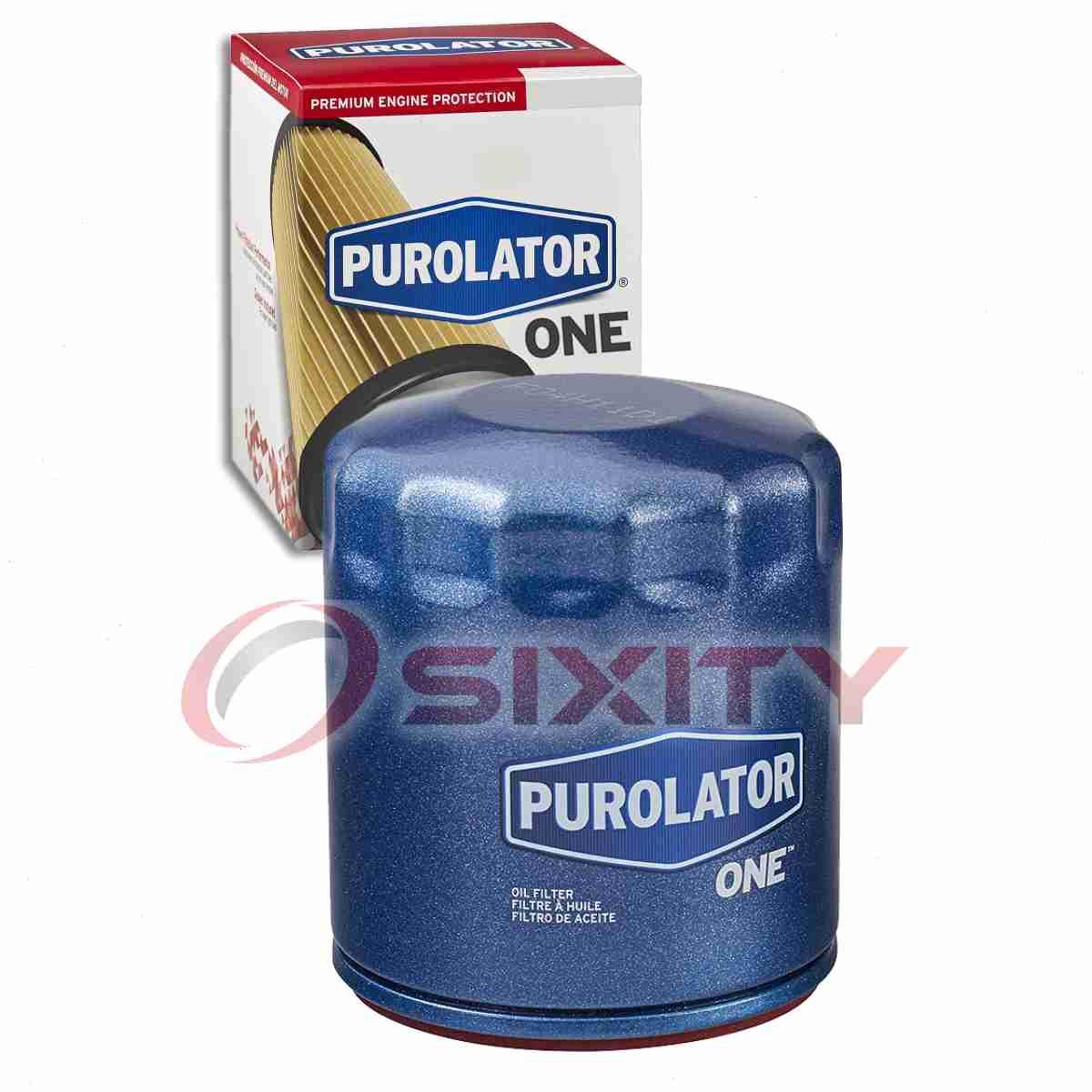Purolator TECH Engine Oil Filter for 2010-2017 GMC Terrain 2.4L L4 Oil lo
