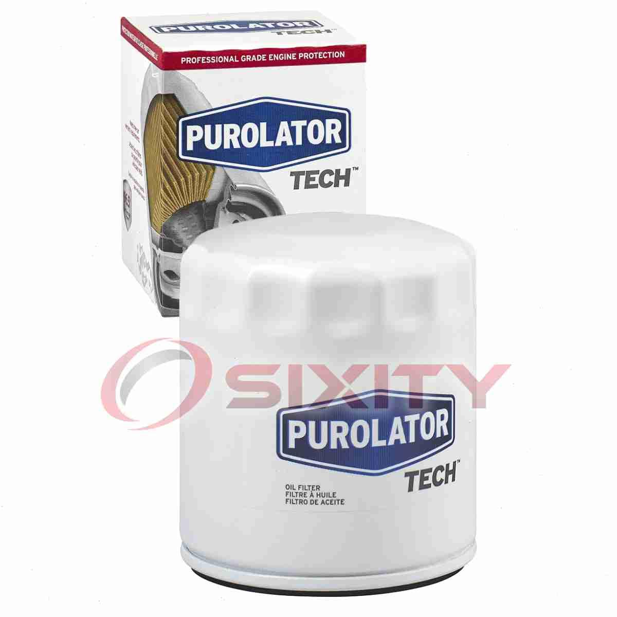 Long Life pw Purolator TECH Engine Oil Filter for 2004-2006 Pontiac GTO