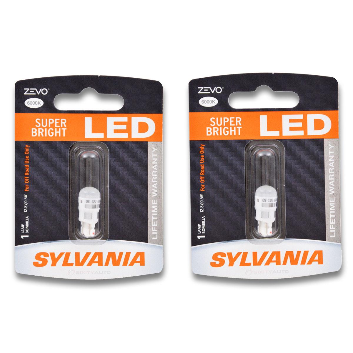 Sylvania ZEVO Front Side Marker Light Bulb For Cadillac
